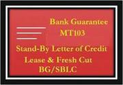 BG,  SBLC,  MTN,  Bank Bonds,  Bank Draft. Leased Instruments