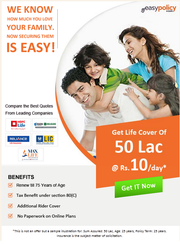 Get Free Quote of term insurance policies