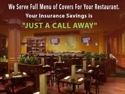 Restaurant and Shop Insurance in Sydney - Select Insure