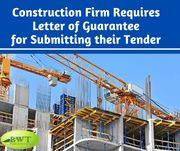 Letter of Guarantee for Winning Construction Projects